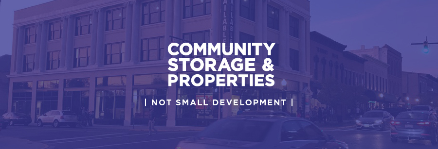 COMMUNITY STORAGE & PROPERTIES